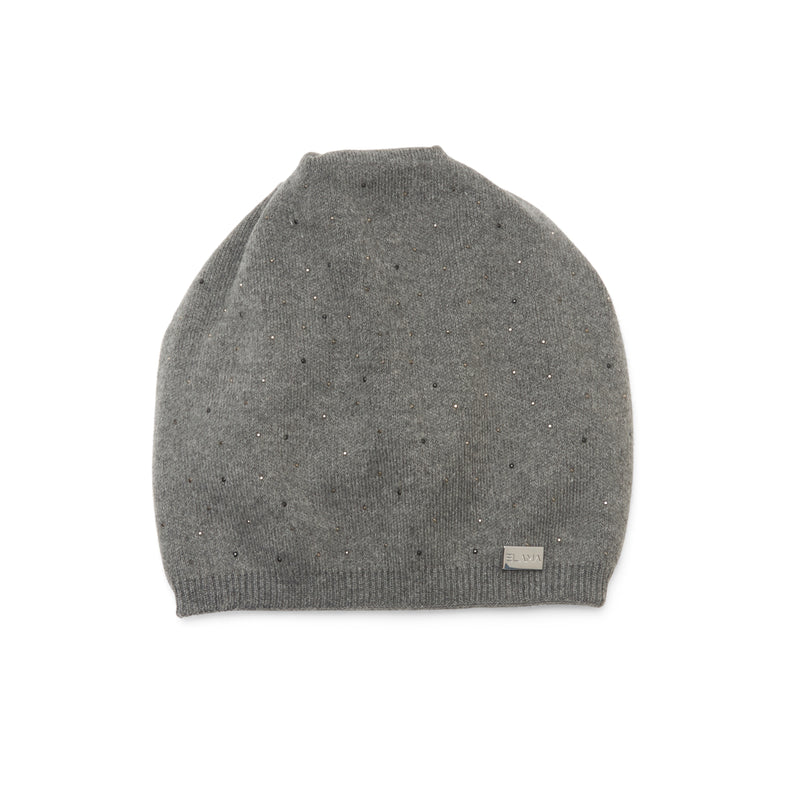 The Sky Beanie in Dark Grey