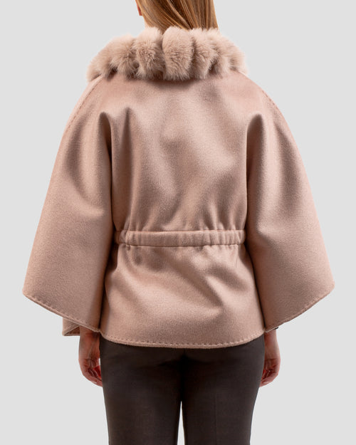 The MADEMOISELLE Cape in Blush