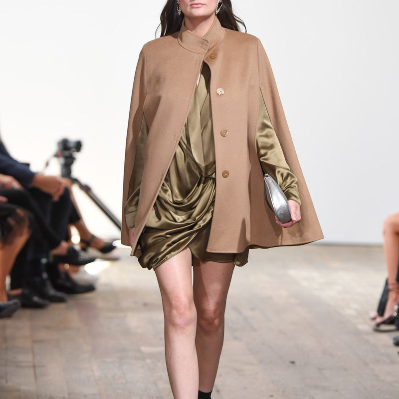 Annabelle Cape in Camel