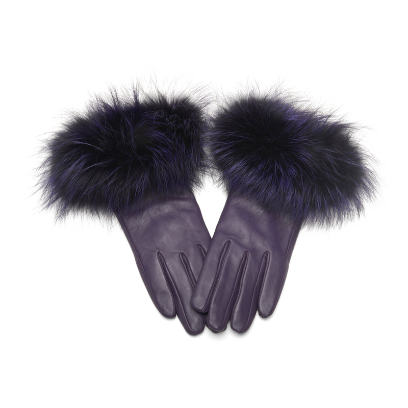 The Emmy Gloves Purple on Purple