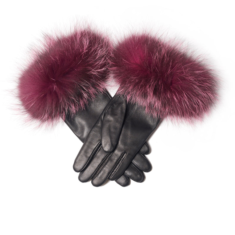 The Emmy Gloves in Burgundy