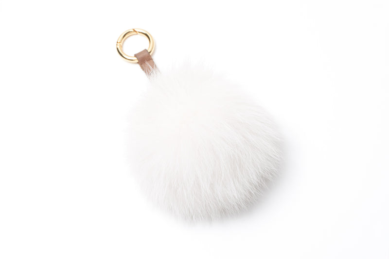 Fox Pompom with Ring