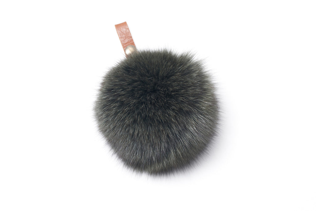 Fox Pompom with Snap