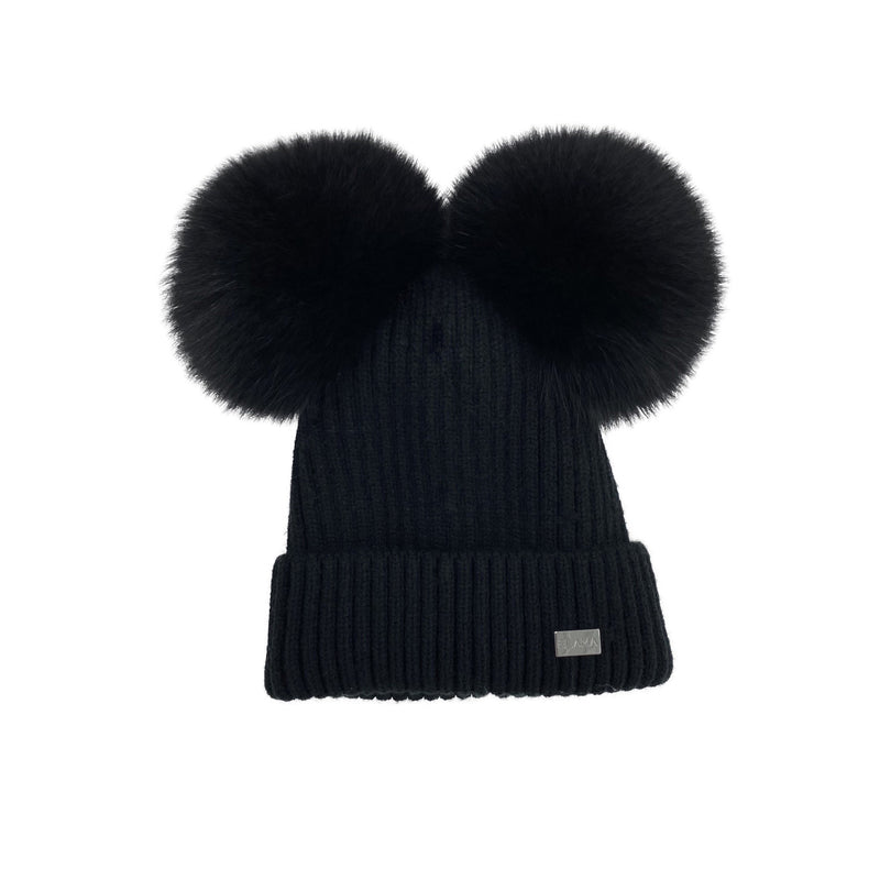 The Maggie Hat in Black