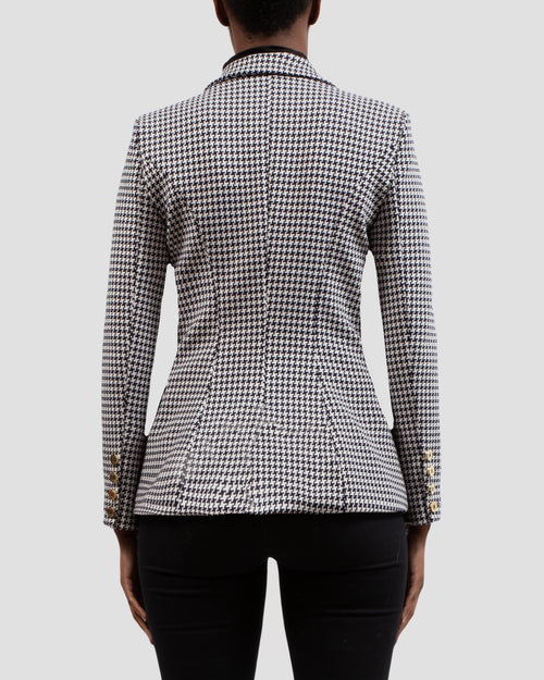 The COCO Blazer in Houndstooth