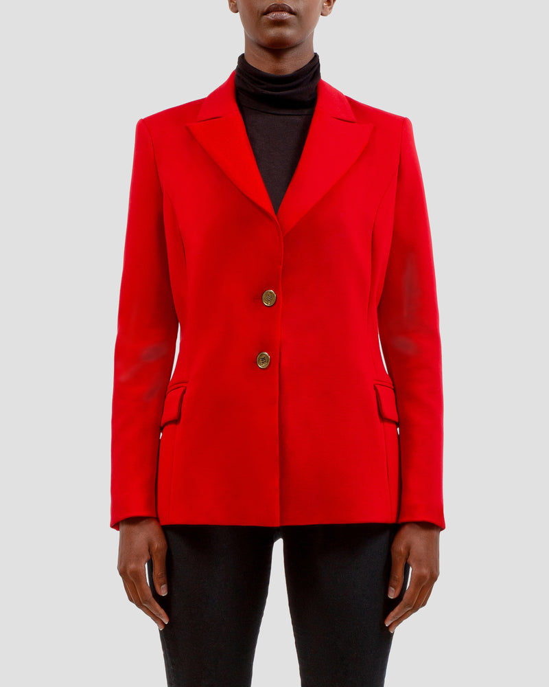 The COCO Blazer in Red