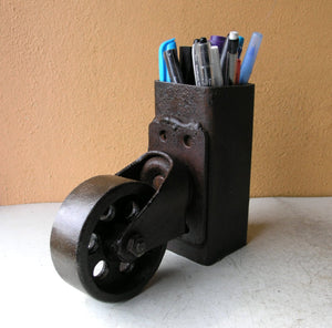 one of the coolest pencil holders EVER