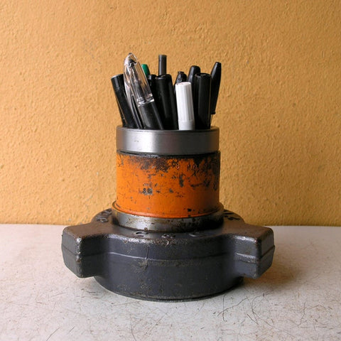 Industrial pen cup office organizer - PaulaArt