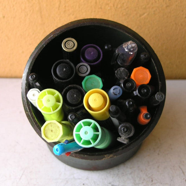 top view of pencil holder - PaulaArt