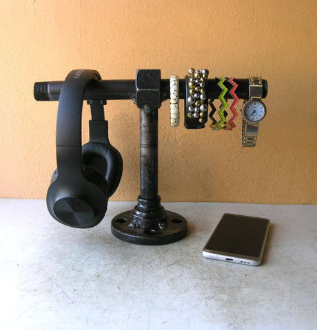 headphone stand jewelry holder