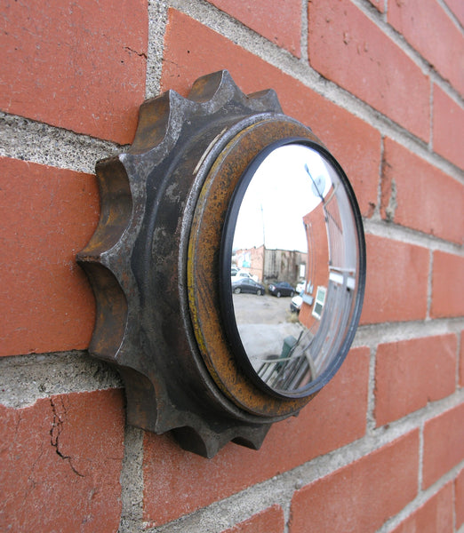 side view wall mirror
