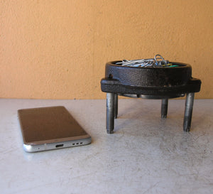iron catchall for desk or nightstand