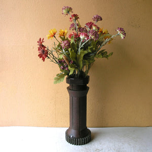 upcycled home decor flower vase