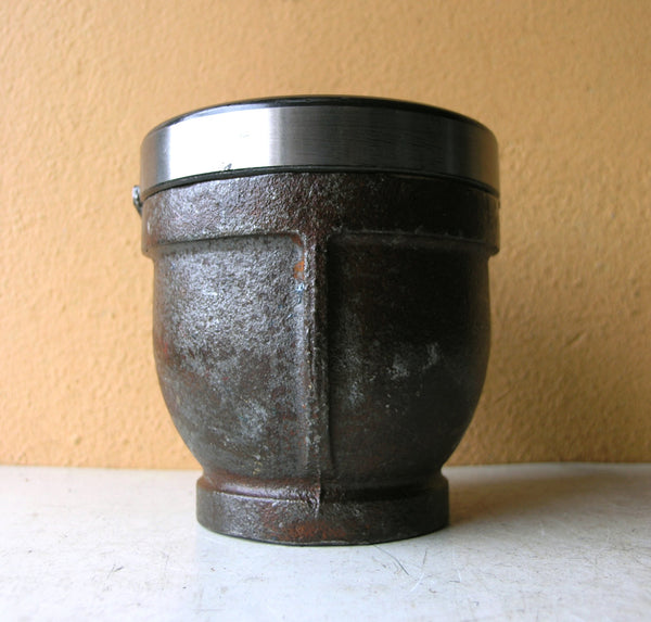 pencil holder recycled metal
