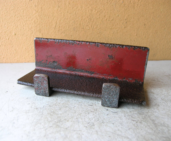 industrial red tablet holder