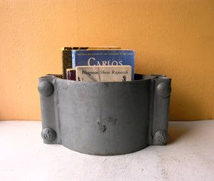 Large industrial book bin for home or office