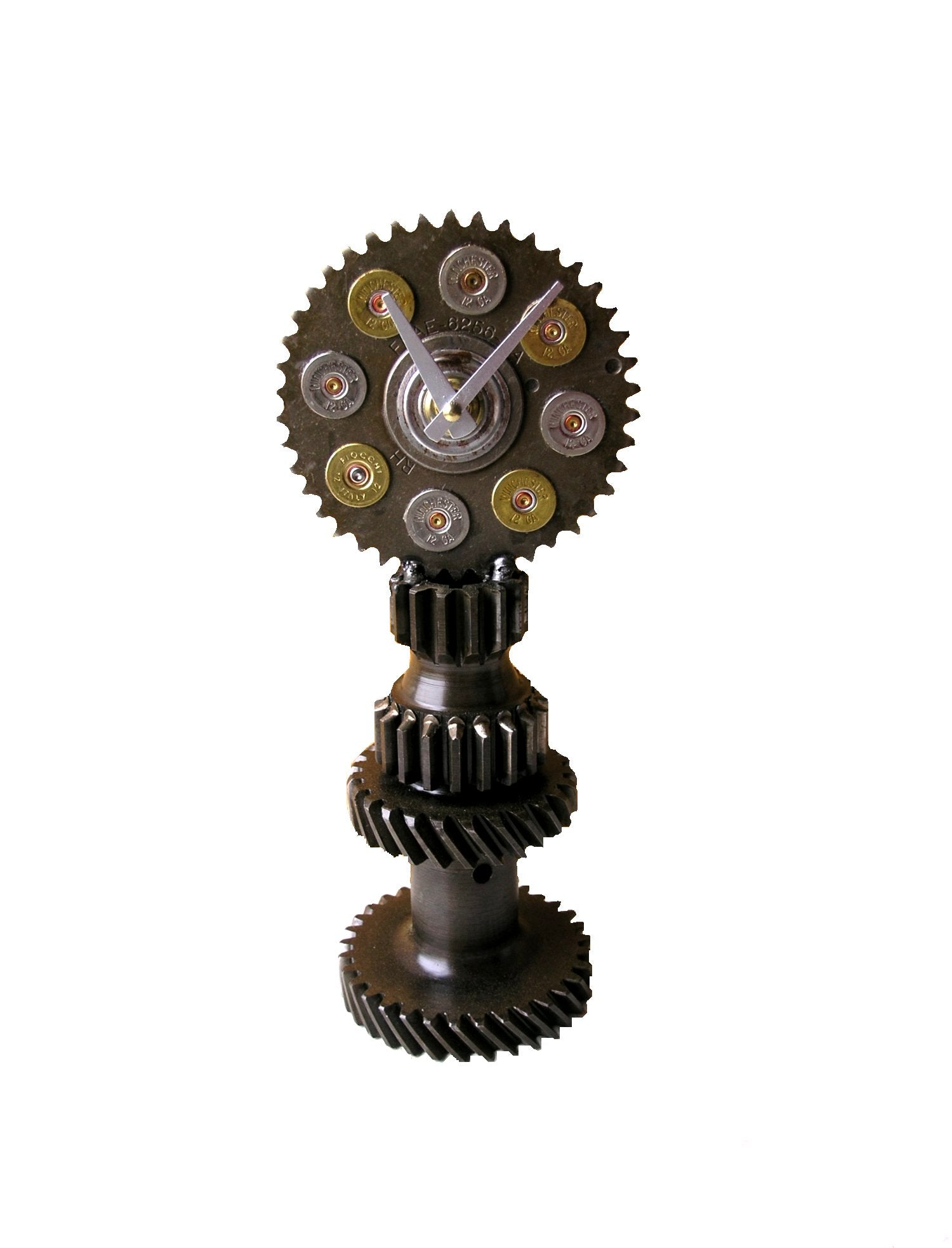 Steampunk Gear Desk Clock - PaulaArt