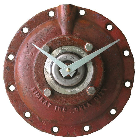 Industrial steel round wall clock - PaulaArt