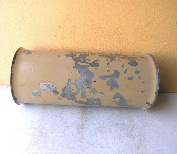 side view of industrial vase