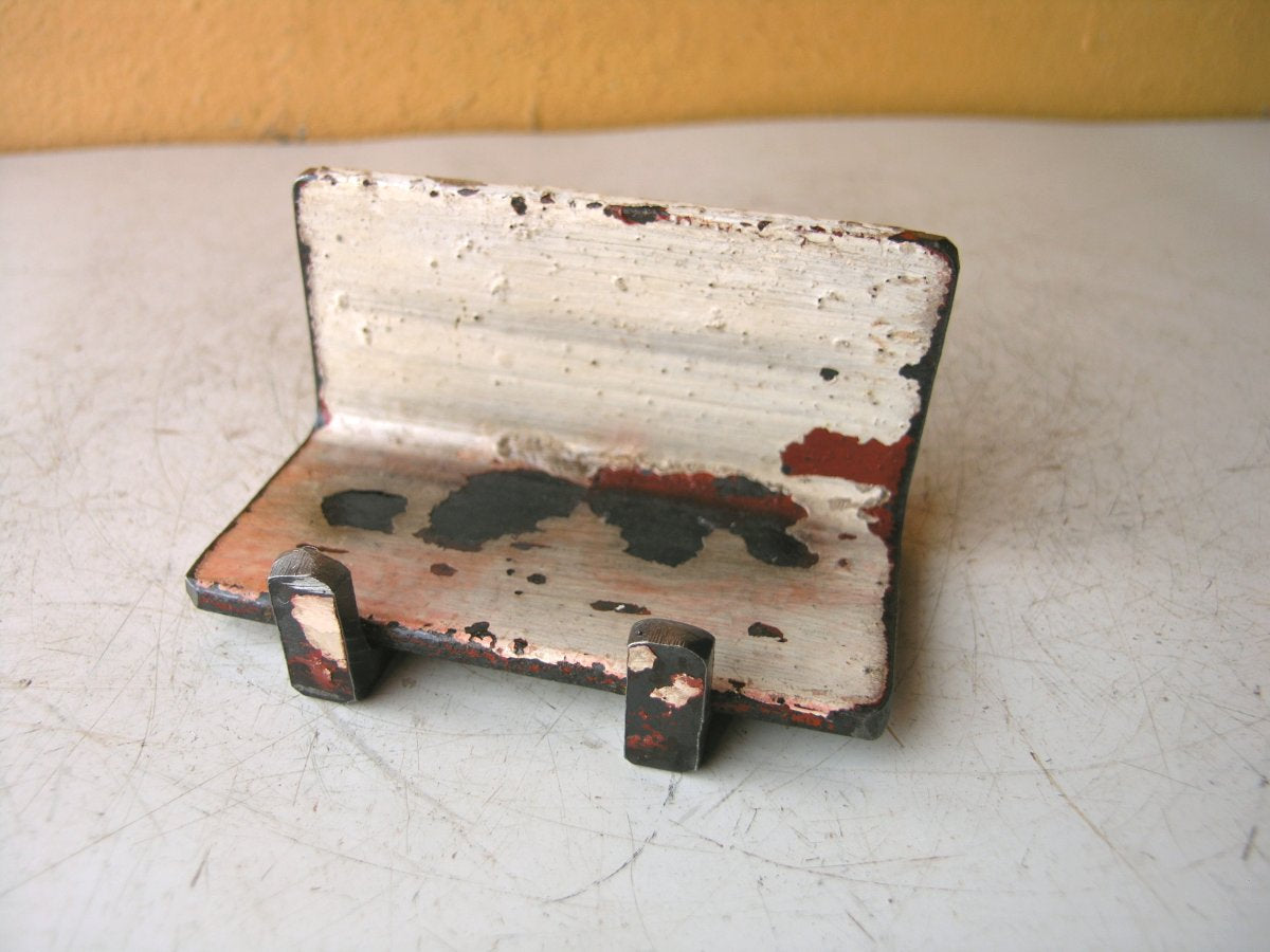 Red White Business Card Holder - PaulaArt
