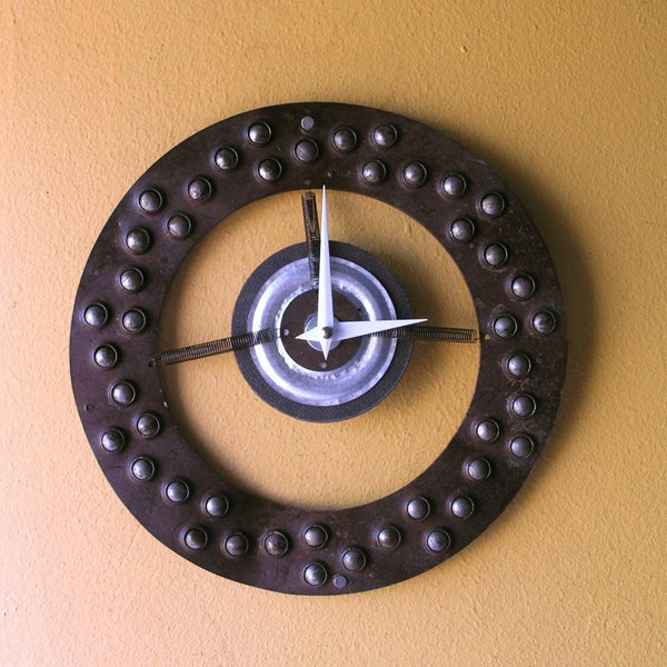 Industrial Wall Clock for home or office - PaulaArt