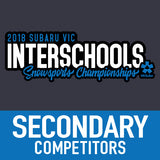 VIC ISSC 2018 Secondary