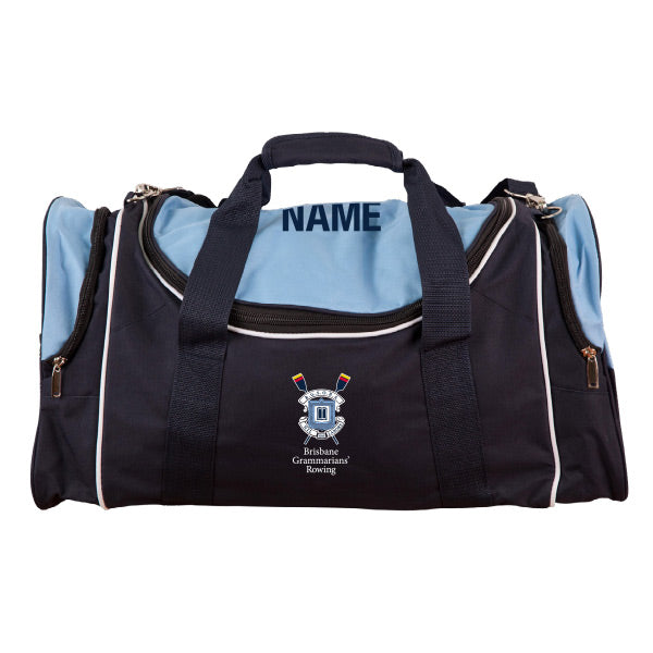 Brisbane Grammarians RC Sports Bag - Individual Name