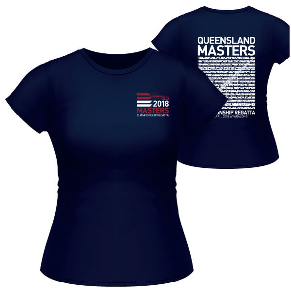 QLD State Masters Champs Tee Women