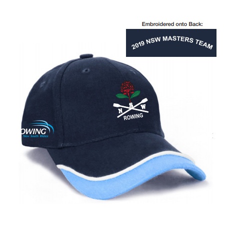 NSW Masters State Team Cotton Cap