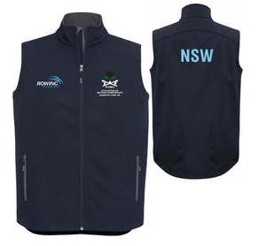 NSW Masters State Team Softshell Vest Men