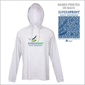Tri Qld Super Sprint Lightweight Hoodie Men