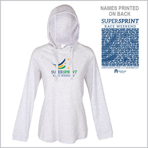 Tri Qld Super Sprint Lightweight Hoodie Women
