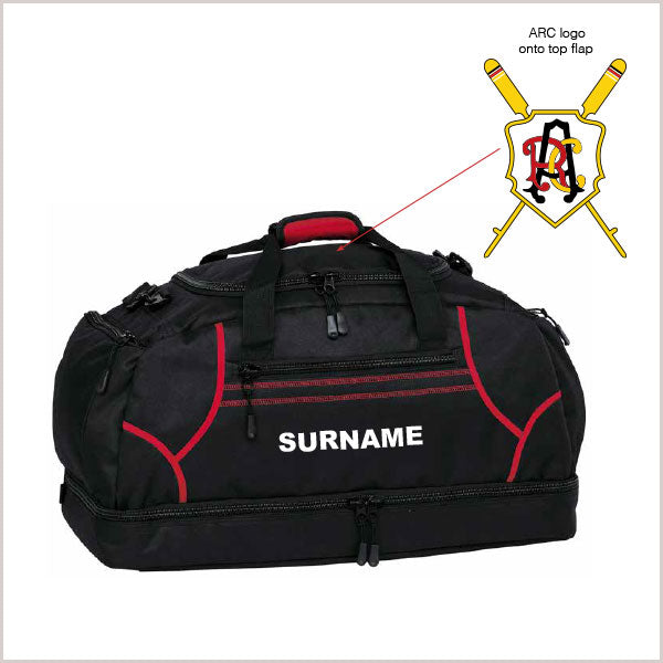 Adelaide RC Sports Bag - Individual Name