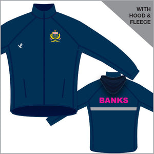 Banks Regatta Jacket with Hood & Fleece