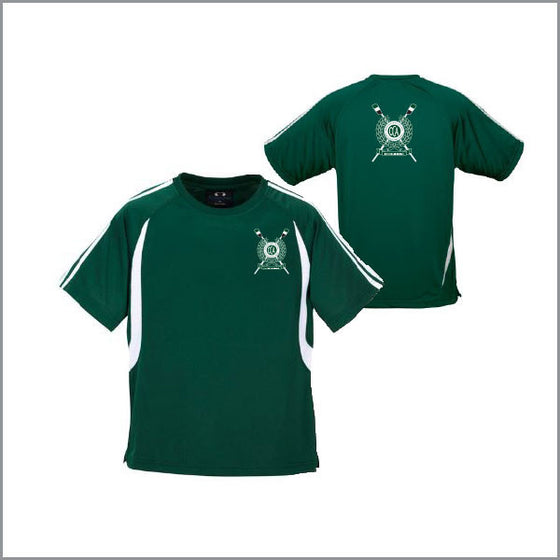 BBC Old Collegians Green Training Tee Opt 2