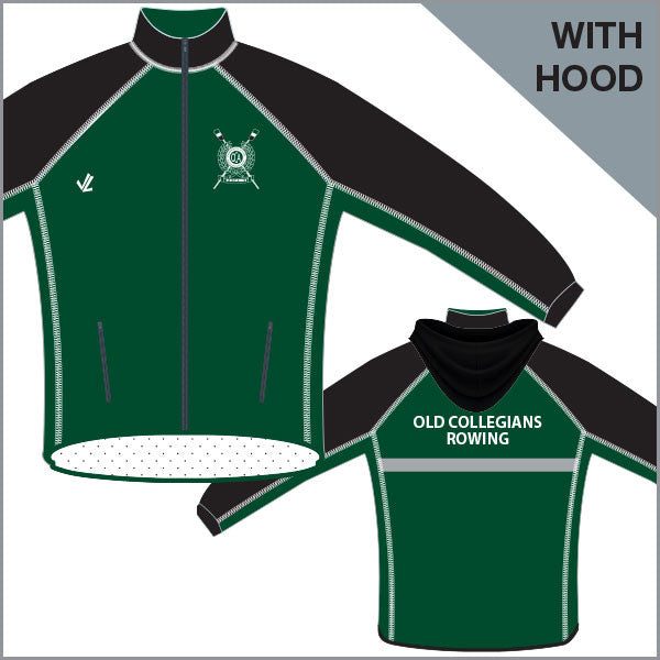 BBC Old Collegians Unisex Regatta Jacket with Hood