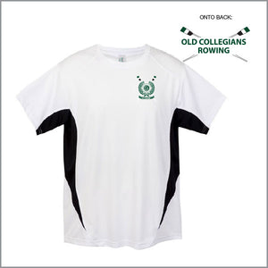 BBC Old Collegians White Training Tee Opt 1