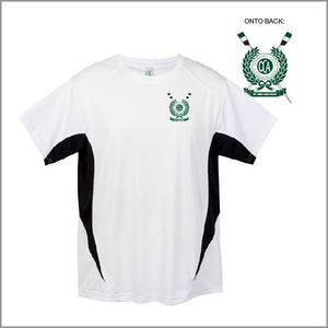 BBC Old Collegians White Training Tee Opt 2