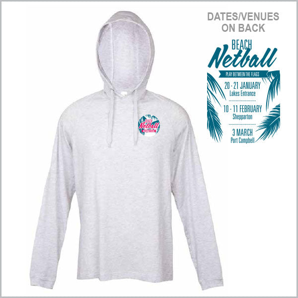 NV Beach Netball Lightweight Hoodie Men