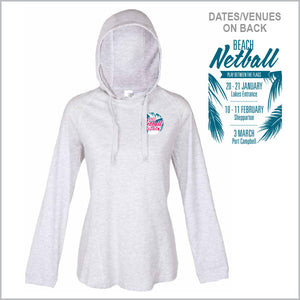 NV Beach Netball Lightweight Hoodie Women