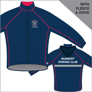 Bunbury Regatta Jckt - fleece & fleece hood