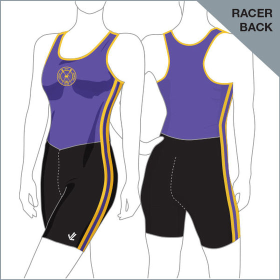 Corio Bay Unisuit Women - Racer Back