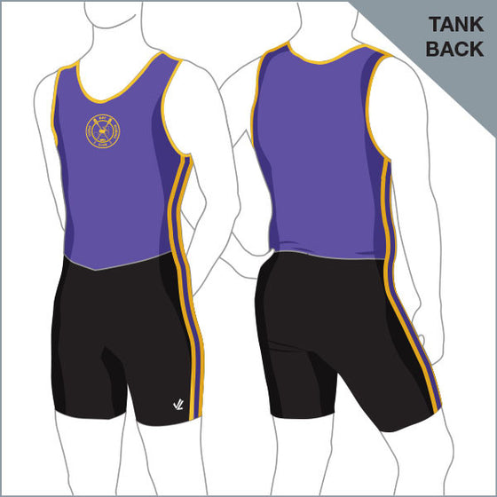 Corio Bay Unisuit Men - Tank Back