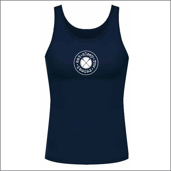 Eat Sleep Row Singlet - Women