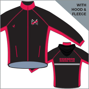 Essendon Regatta Jacket with Hood & Fleece