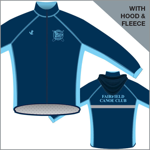 Fairfield CC Unisex Regatta Jacket with Hood & Fleece