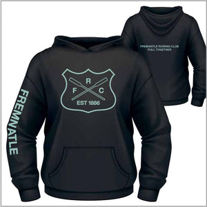 Fremantle RC Heavyweight Black Fleece Hoodie - Women
