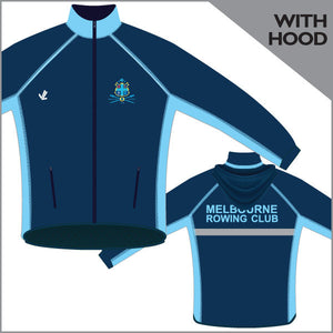 Melbourne RC Regatta Jacket with Hood