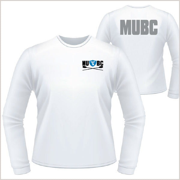 MUBC Loose Poly L/S Tee - Unisex