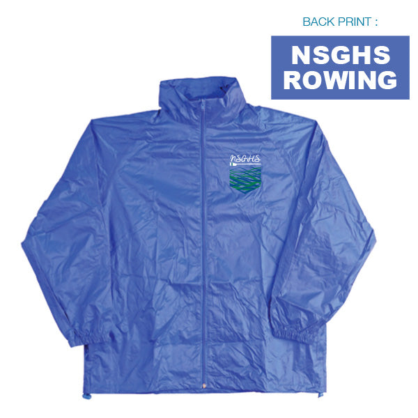 North Sydney Girls High School Lightweight Rain Jacket